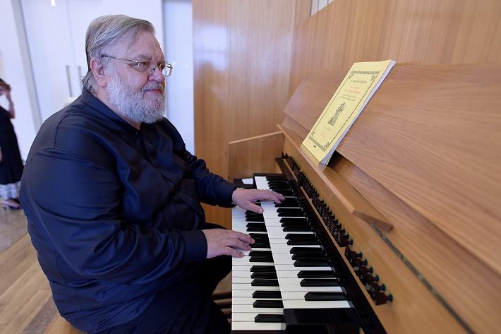Bratislavský organový festival 2015, Ján Vladimír Michalko, foto: Ján Lukáš
