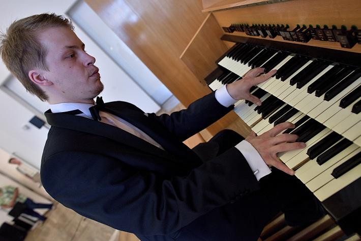 Bratislavský organový festival 2015, Tomáš Mihalik, foto: Ján Lukáš