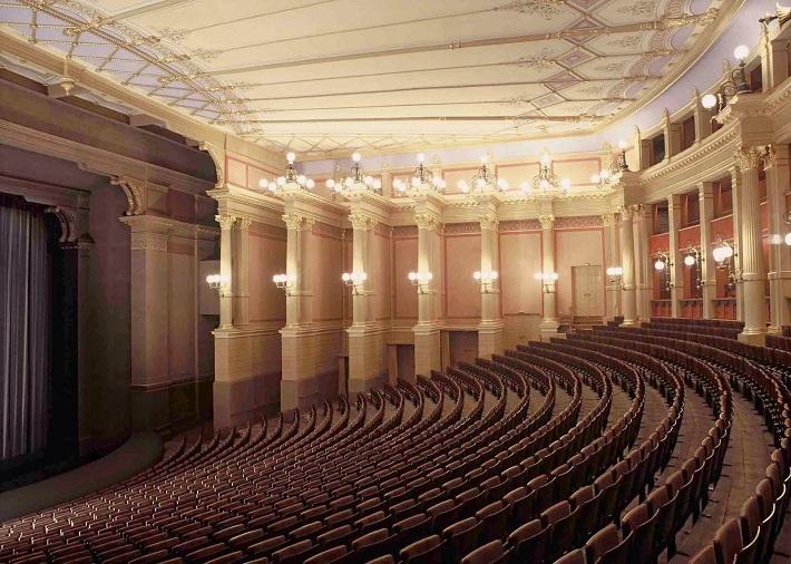Divadlo v Bayreuthe, foto: Jörg Schulze