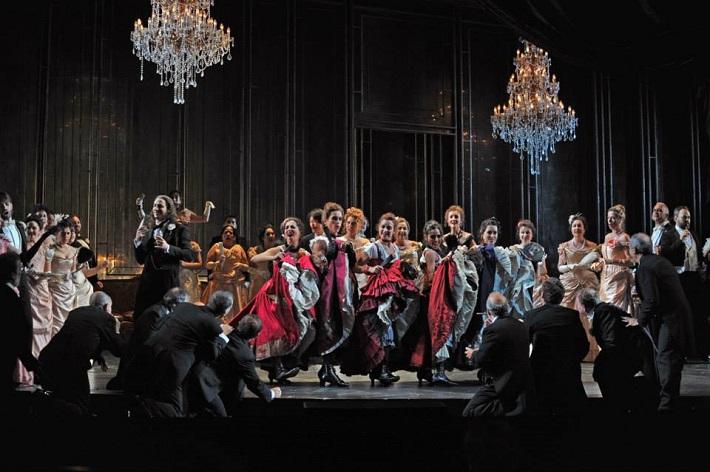 G. Verdi: La Traviata, Gran Teatre del Liceu Barcelona (2015), foto: A. Bofill