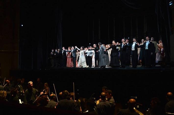 G. Verdi La Traviata, foto z ďakovačky Gran Teatre del Liceu Barcelona, foto FB