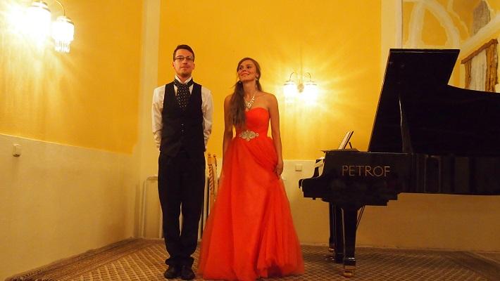 Klavírne duo, Lucia Berešová a Pavol Brutovský, Bratislava