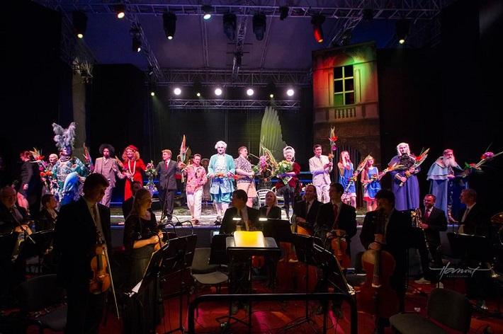 Kráľ Teodor v Benátkach, predstavenie Operného štúdia SND v rámci festivalu Viva Musica! 2015, foto: Zdenko Hanout