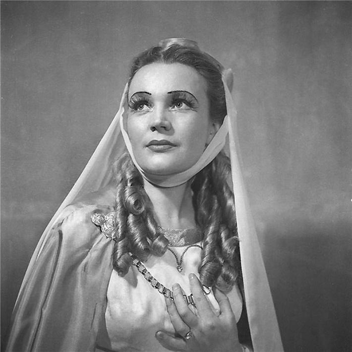 Ludmila Dvořáková vo Wagnerovej opere Tannhäuser (1955), foto: archív Národného divadla v Prahe
