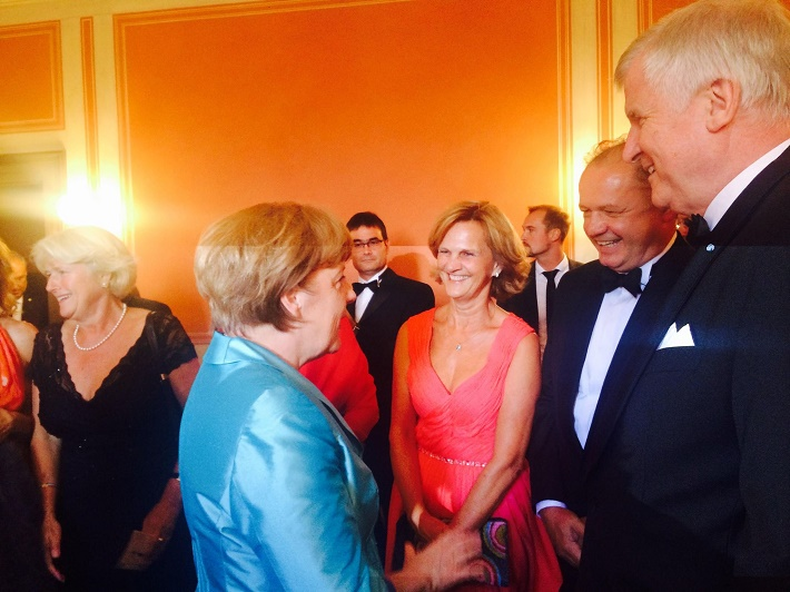 Prezident SR Andrej Kiska a nemecká kancelárka Angela Merkelová, foto: FB A. Kiska