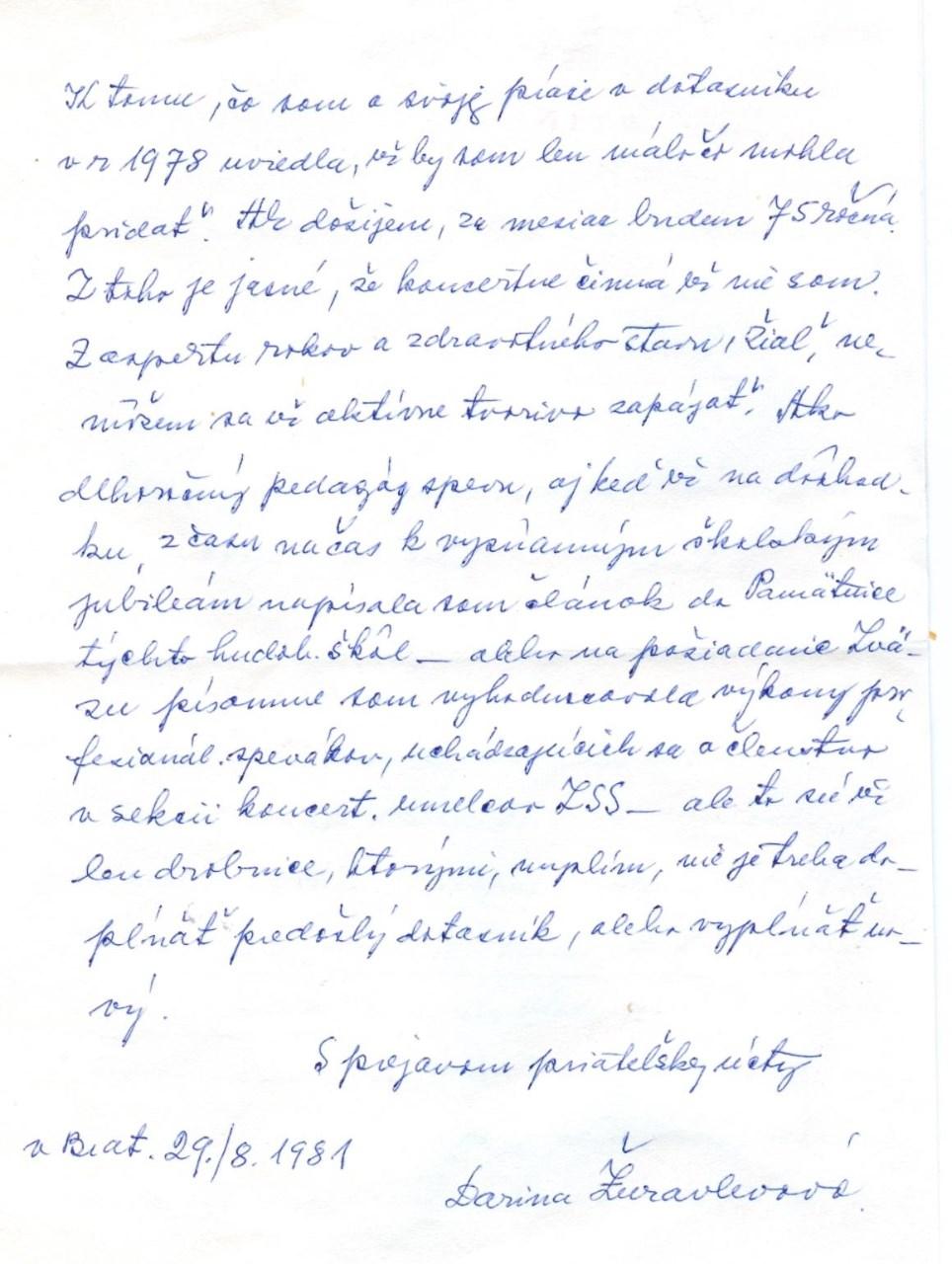 Rukopis Dariny Žuravlevovej