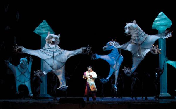 Čarovná flauta, Metropolitná opera New York