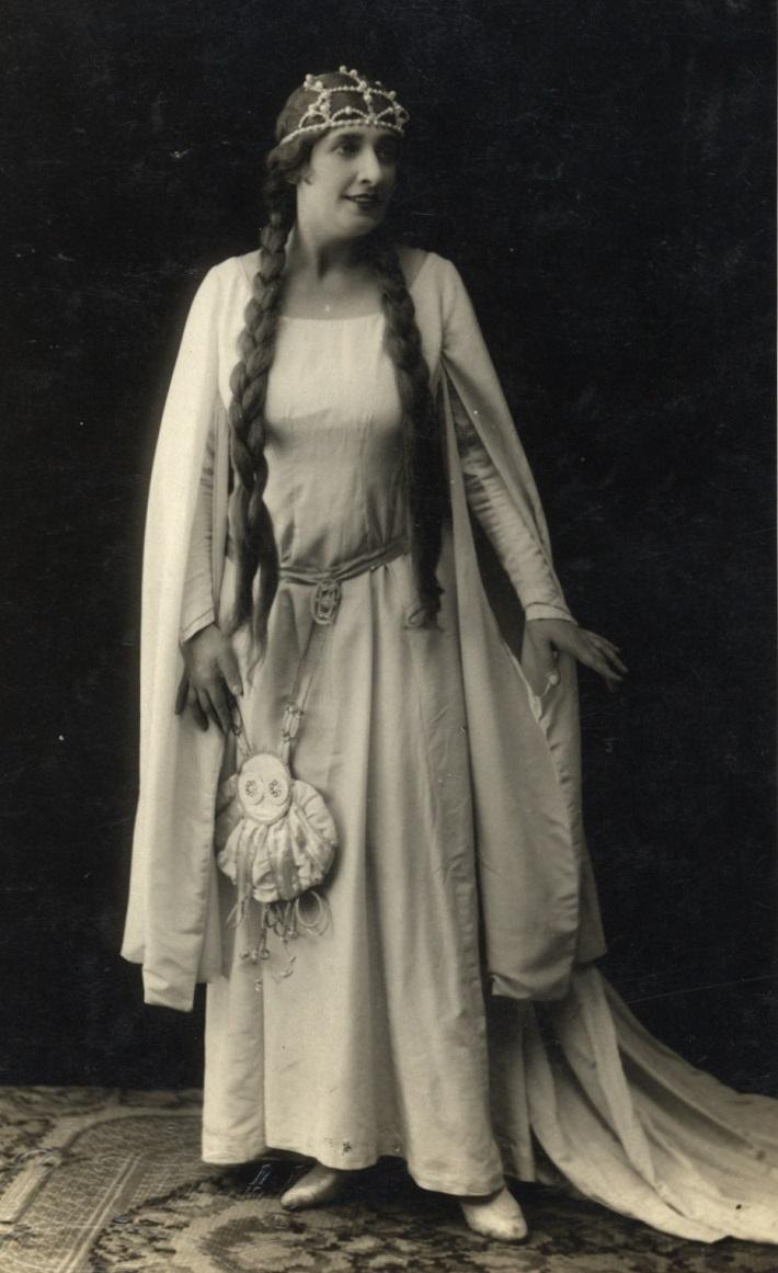 G. Verdi: Otello, 1928, Máša Kolárová (Desdemona), foto: Archív DÚ