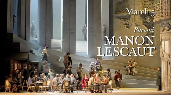 Manon Lescaut, Metropolitná opera New York