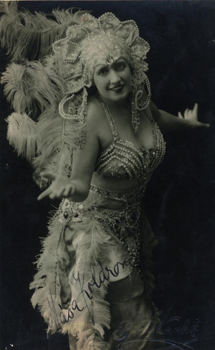 N. Rimskij-Korsakov: Zlatý konútik, 1928, Máša Kolárová (Šemachanská cárovná)