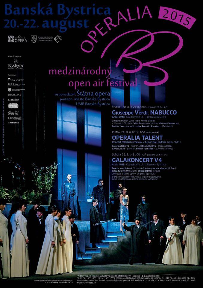 Operalia Banská Bystrica 2015