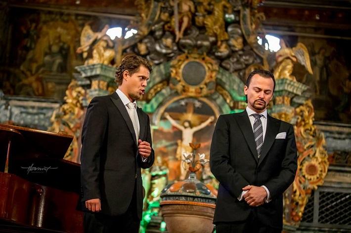 Operný benefičný koncert Operné gala 2015 v Kežmarku, Peter Kellner, Štefan Kocán, foto: Zdenko Hanout