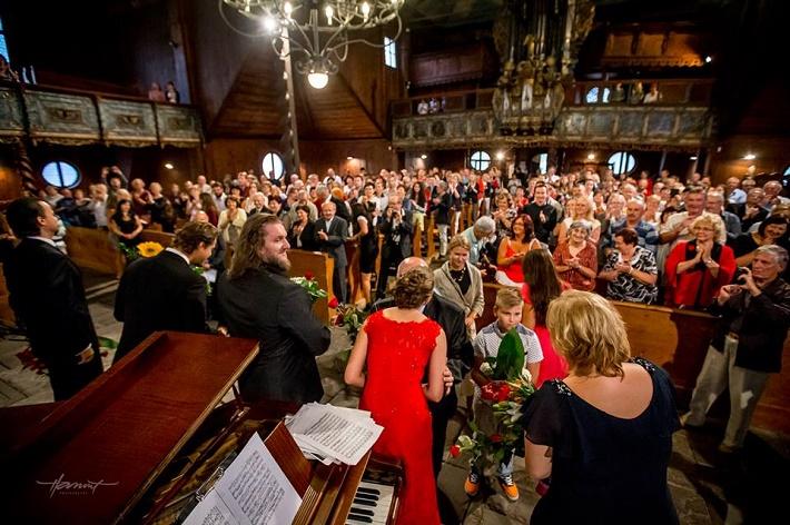 Operný benefičný koncert Operné gala 2015 v Kežmarku, ďakovačka, foto: Zdenko Hanout