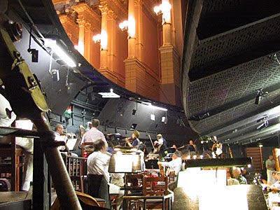 Pohľad do orchestrálnej jamy