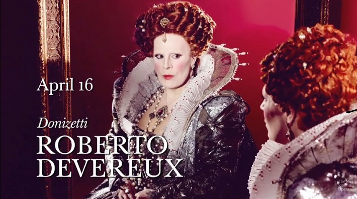Roberto Devereux, Metropolitná opera New York