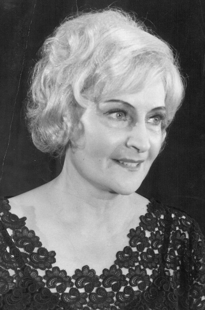 Ružena Kustrová, (1910 – 2000), foto: Archív DÚ