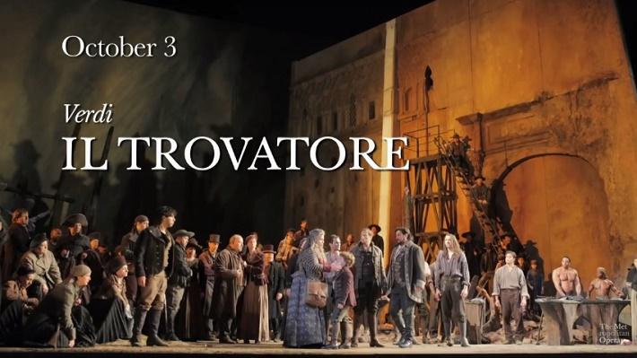 Trubadúr, Metropolitná opera New York