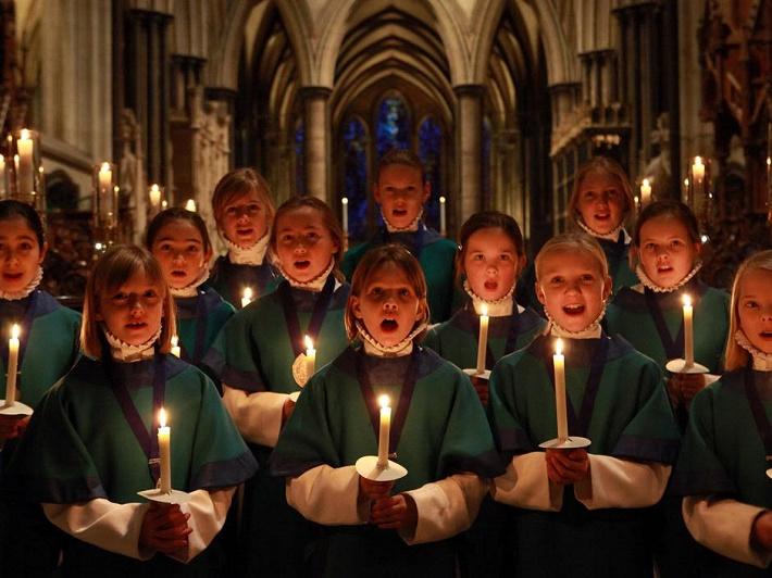 Vo Veľkej Británii je zborový spev predmetom vyučovaným na viacerých školách, ilustračné foto