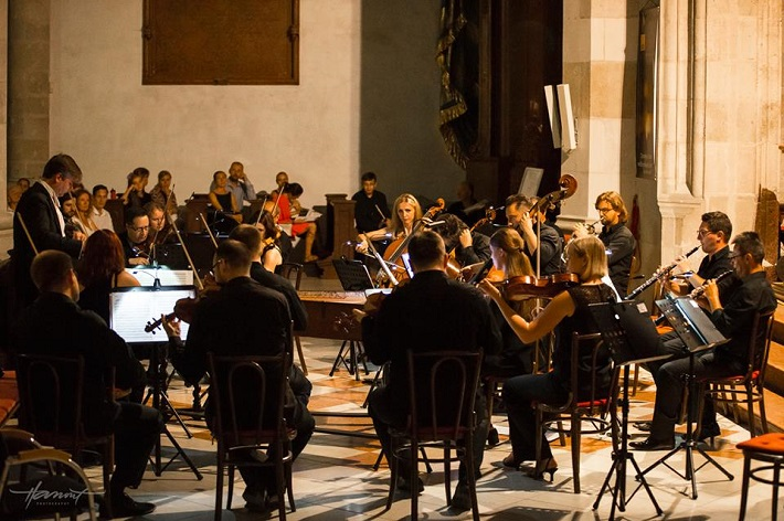 Zdeněk Klauda, Hilaris Chamber Orchestra, koncert Viva Musica! festival 2015, foto: Zdenko Hanout