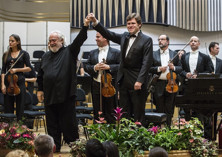 BHS 2015, Filharmonický orchester Monte Carlo, Gianluigi Gelmetti, Andrey Yaroshinsky, foto: Peter Brenkus