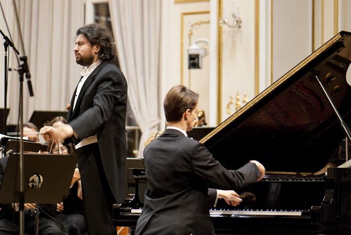 BHS 2015, Symfonický orchester mesta Moskvy – Ruská filharmónia, Dmitri Jurowski, Alexander Sinchuk, foto: Alexander Trizuljak