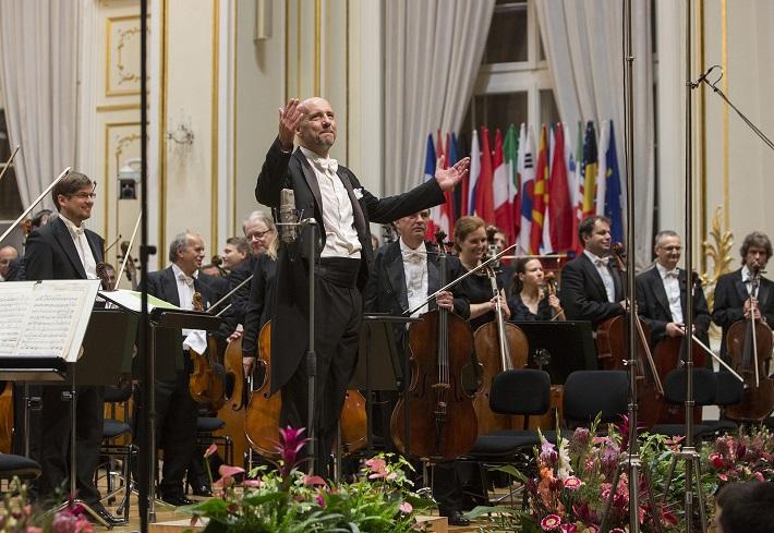 BHS 2015, otvárací koncert, Emmanuel Villaume, foto: Peter Brenkus