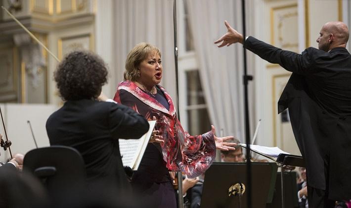 BHS 2015, otvárací koncert, Olga Borodina, Emmanuel Villaume, foto: Peter Brenkus