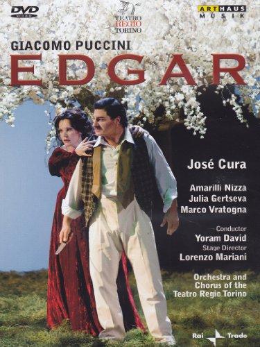 DVD Edgar - pôvodná Pucciniho verzia opery v štyroch dejstvách