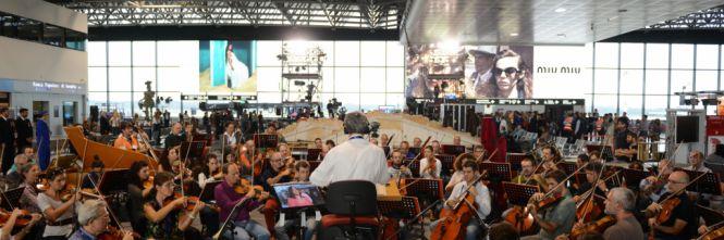 Donizetti na letisku Malpensa, orchester divadla La Scala, dirigent Fabio Luisi