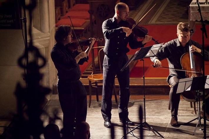 Festival komornej hudby Konvergencie 2015, Koncert v Dóme sv. Martina, Peter Biely, Simon Tandree, Jozef Lupták, foto: Konvergencie