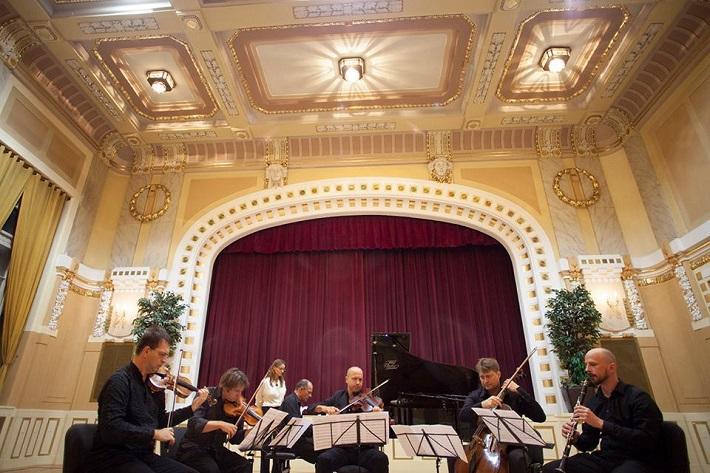 Festival komornej hudby Konvergencie 2015, Koncert v Moyzesovej sieni, foto: Konvergencie
