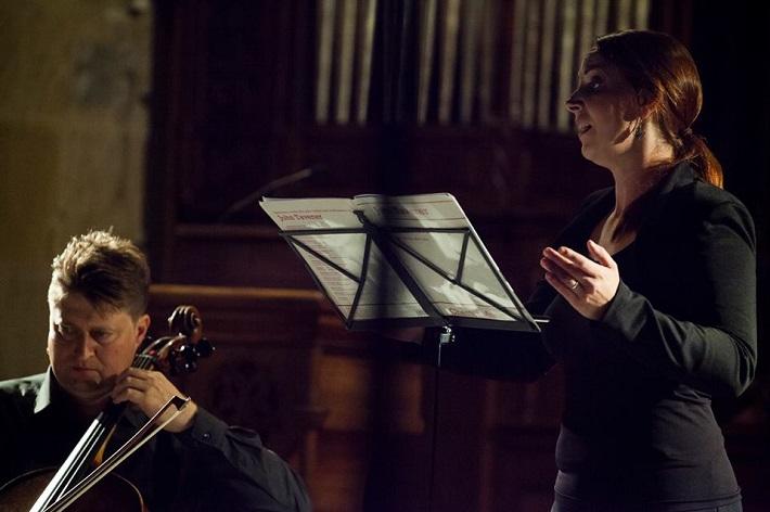 Festival komornej hudby Konvergencie 2015, Koncert v Dóme sv. Martina, Jozef Lupták, Eva Šušková, foto: Konvergencie