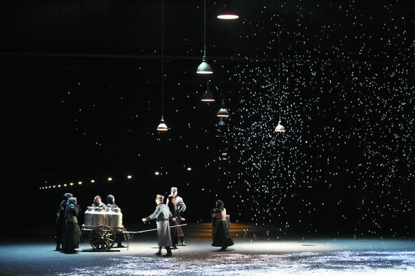 Giacomo Puccini: Bohéma, Opera SND, foto: Jozef Barinka