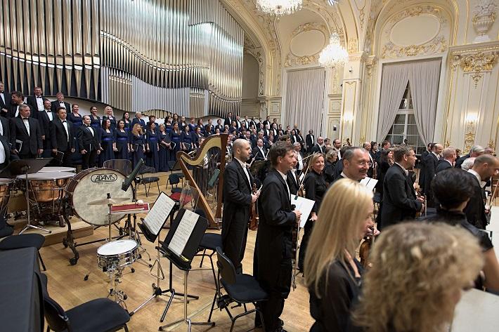Koncert k 200. výročiu narodenia Ľudovíta Štúra, Slovenská filharmónia, Slovenský filharmonický zbor, foto: Ján Lukáš