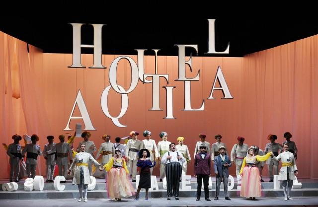 La Gazzetta, Rossiniho operný festival, Pesaro 2015, foto: ROF
