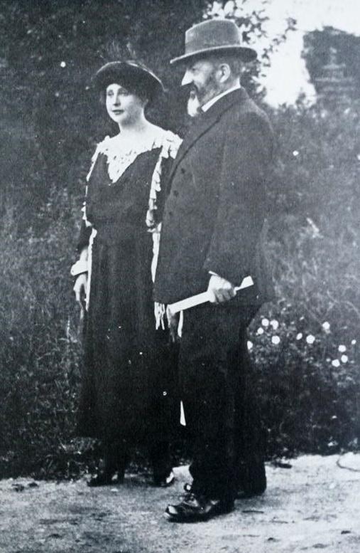 Marie Calma Veselá s manželom
