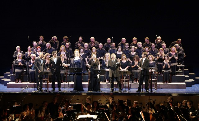 Messa di gloria, Rossiniho operný festival, Pesaro 2015, foto: ROF