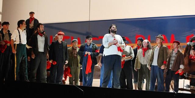 Rossiniho operný festival v Pesare, G. Rossini: Viliam Tell, Nicola Alaimo, foto: ROF