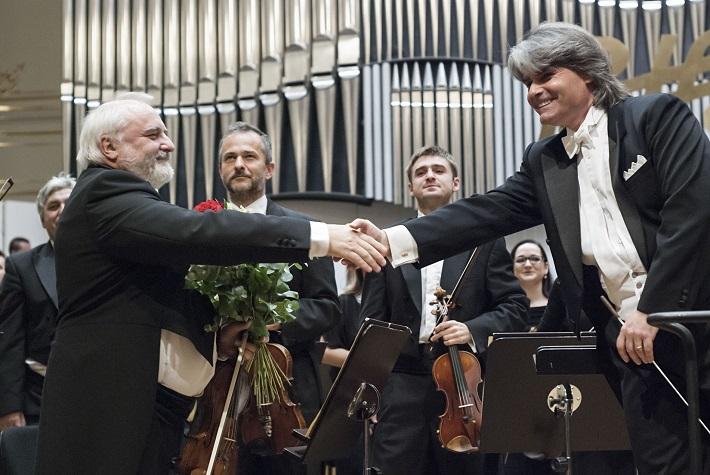 BHS 2015, Ion Marin, Slovenská filharmónia, foto: Alexander Trizuljak