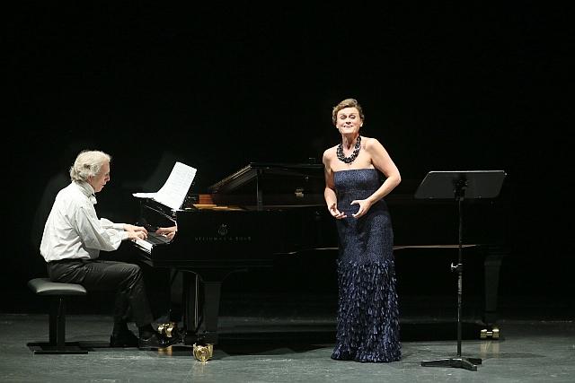 Charles Spencer, Vesselina Kasarova , Koncert v Opere Frankfurt, foto: Wolfgang Runkel