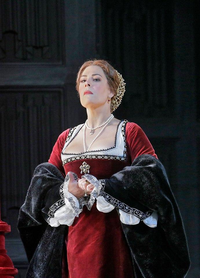 Gaetano Donizetti: Anna Bolena, MET, Sondra Radvanovsky (Anna Bolena), foto: Ken Howard/Met Opera