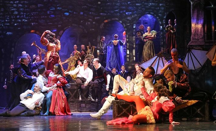 Giuseppe Verdi,: Rigoletto, Štátna opera Banská Bystrica, 2015, foto: Jozef Lomnický