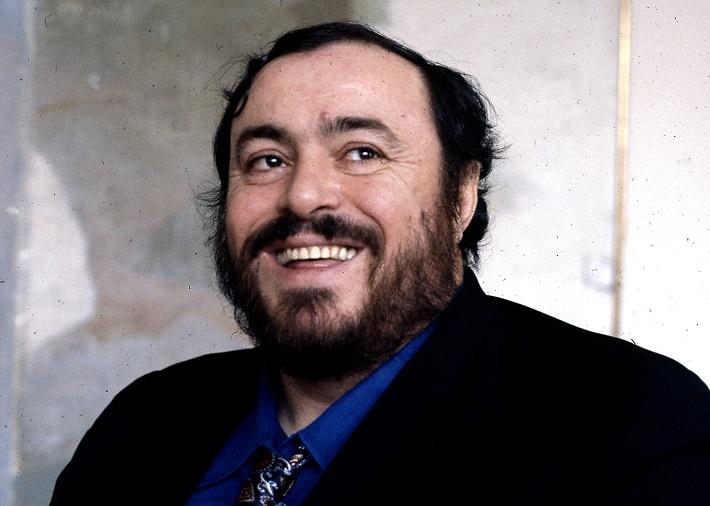 Luciano Pavarotti, foto: AP, 1979