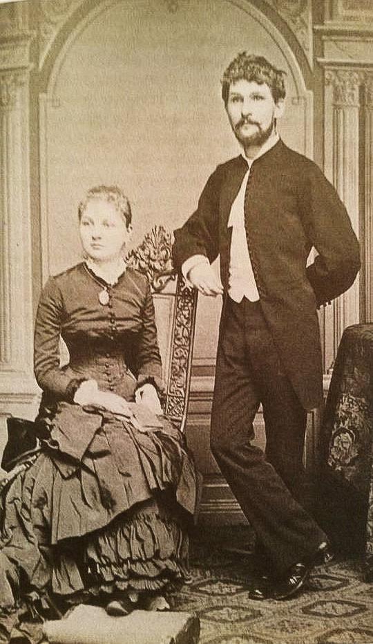 Mladomanželia Janáčkoví
