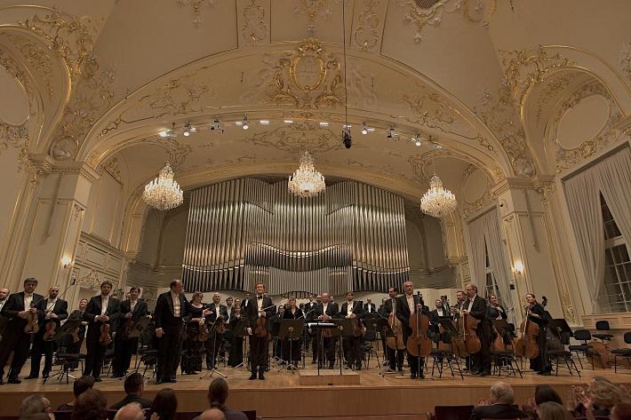 Otvárací koncert Slovenskej filharmónie, 2015, Leoš Svárovský, Josef Špaček, foto: Ján Lukáš