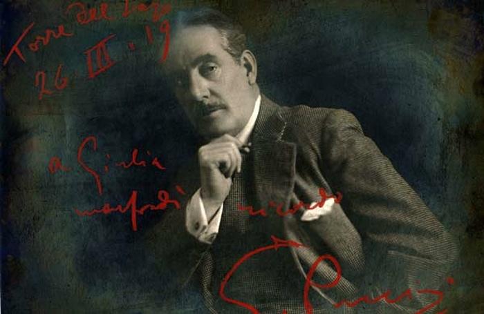 Puccini venoval tento obrázok Giulii Manfredi, na verejnosť sa dostal po prvýkrát až po otvorení kufríka.