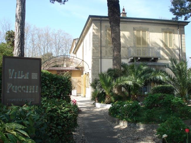 Pucciniho vila v Torre del Lago -  dnes je v nej múzeum