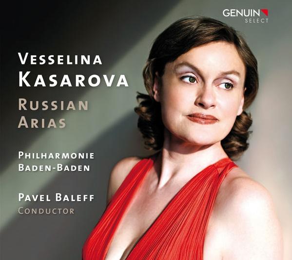Vesselina Kasarova, CD novinka - Russian arias