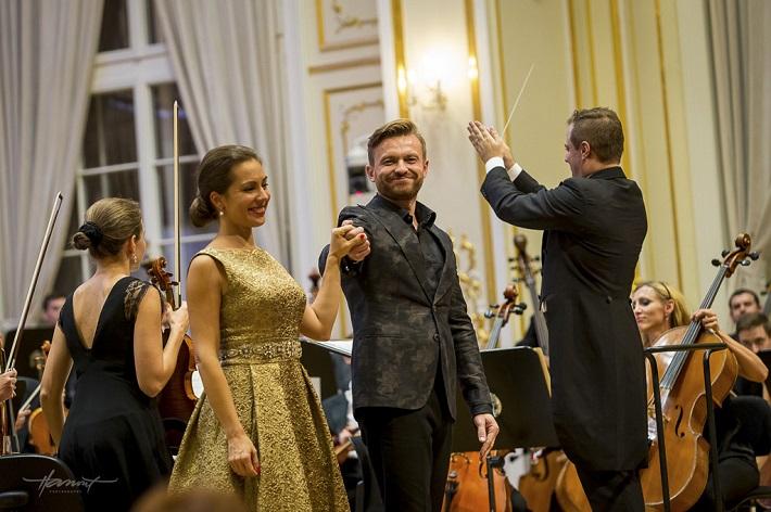 Záverečný koncert festivalu Viva Musica! 2015, Adriana Kučerová, Pavol Bršlík, Robert Jindra, foto: Zdenko Hanout