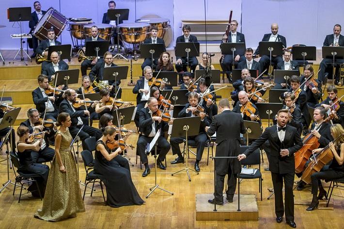 Záverečný koncert festivalu Viva Musica! 2015, Adriana Kučerová, Robert Jindra, Pavol Bršlík, foto: Zdenko Hanout